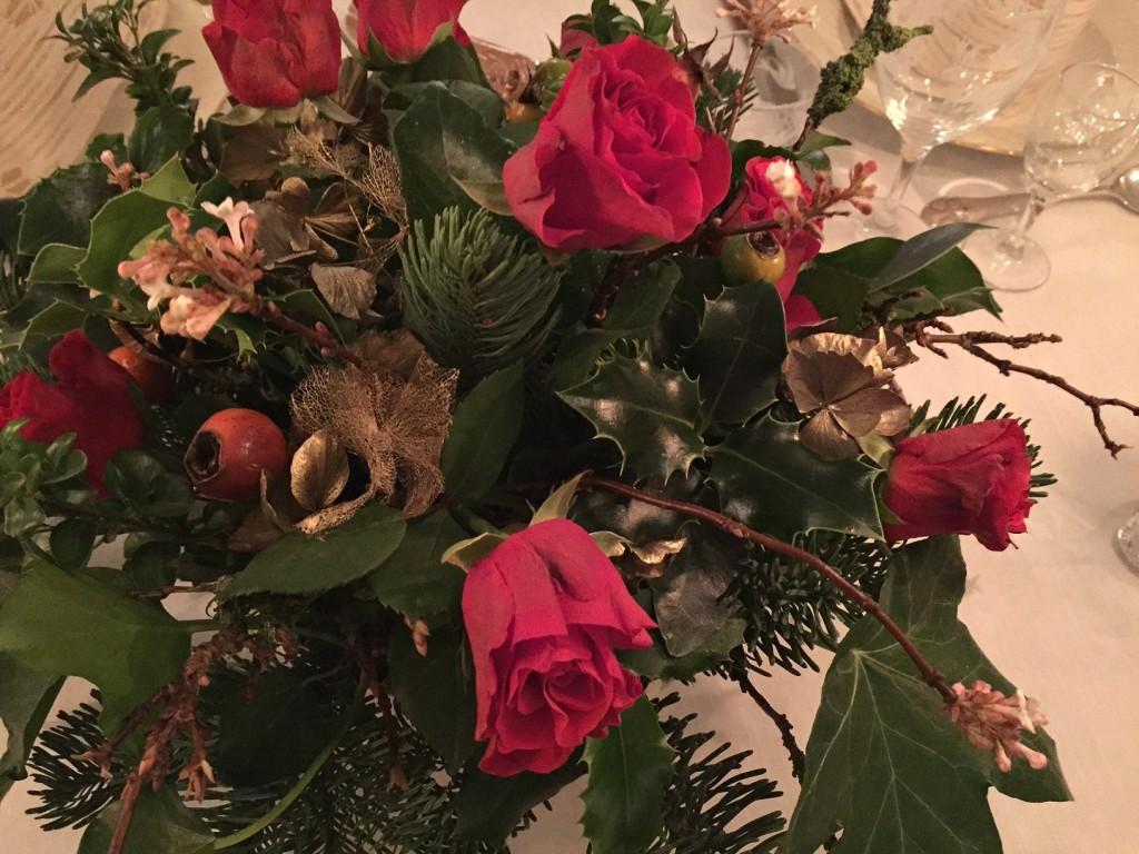 Juledekoration med ting fra haven