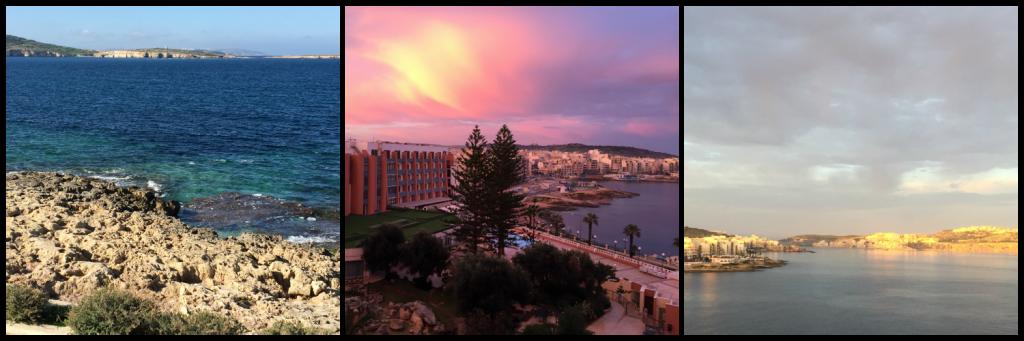 Malta har en flot kyststrækning