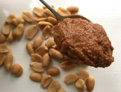 Hjemmelavet peanutbutter