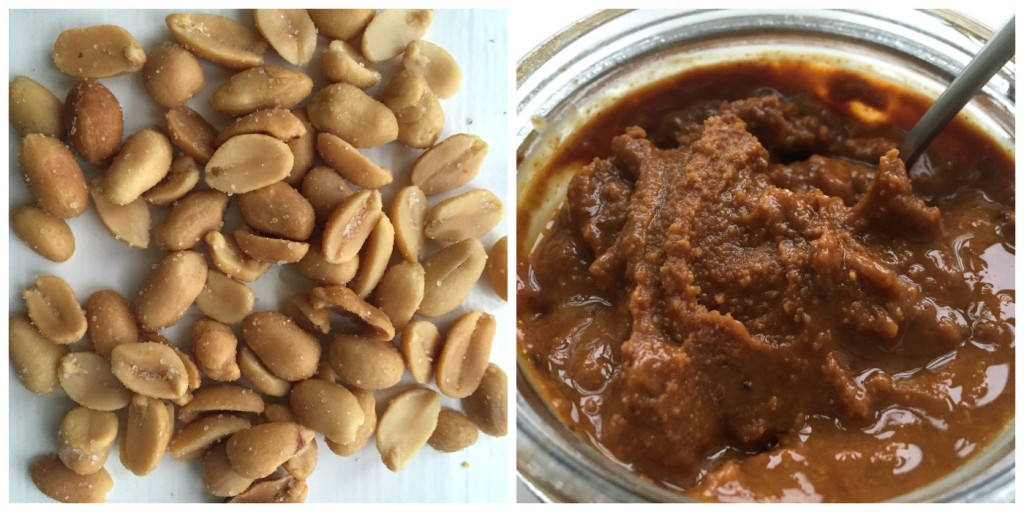 Peanuts og olie