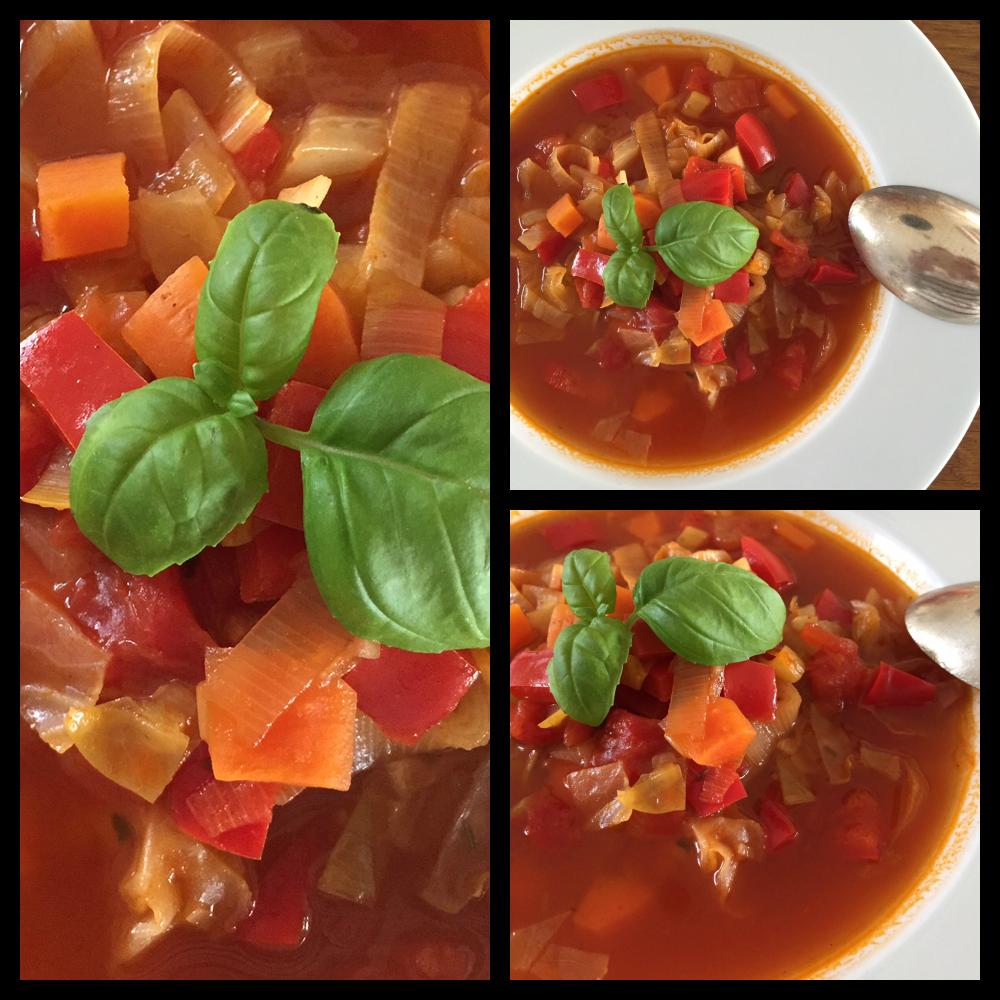 Varm suppe