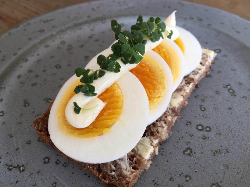 Æggemad med chiakarse