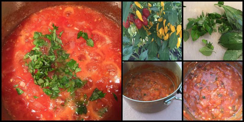 Hjemmelavet tomatsauce