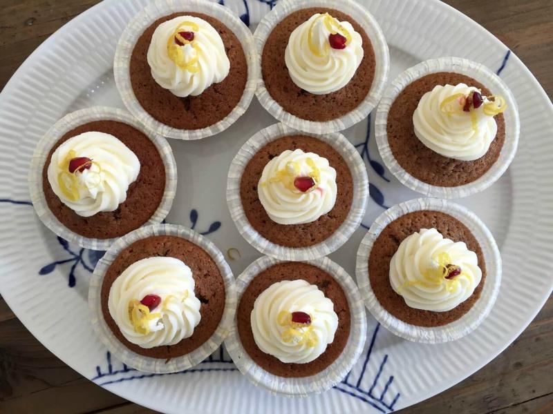 Lækre muffins med vinterkrydderier