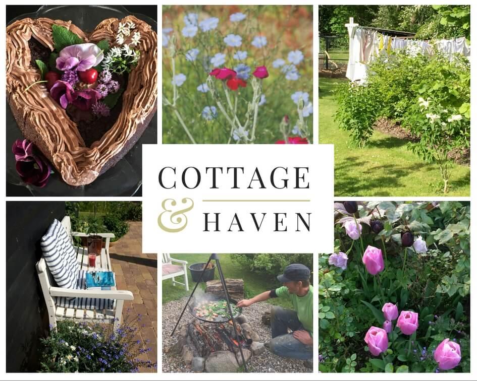 Blomsterne i cottagehaven