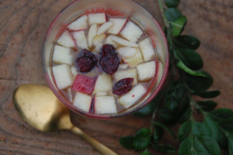 Hjemmelavet æblegløgg med ingefær