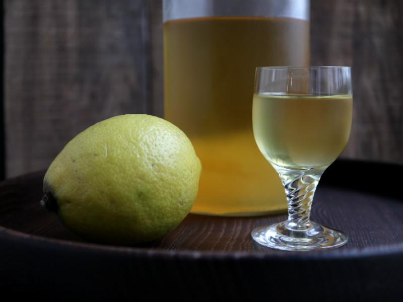Hjemmelavet limoncello