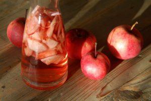 Hjemmelavet æbleeddike