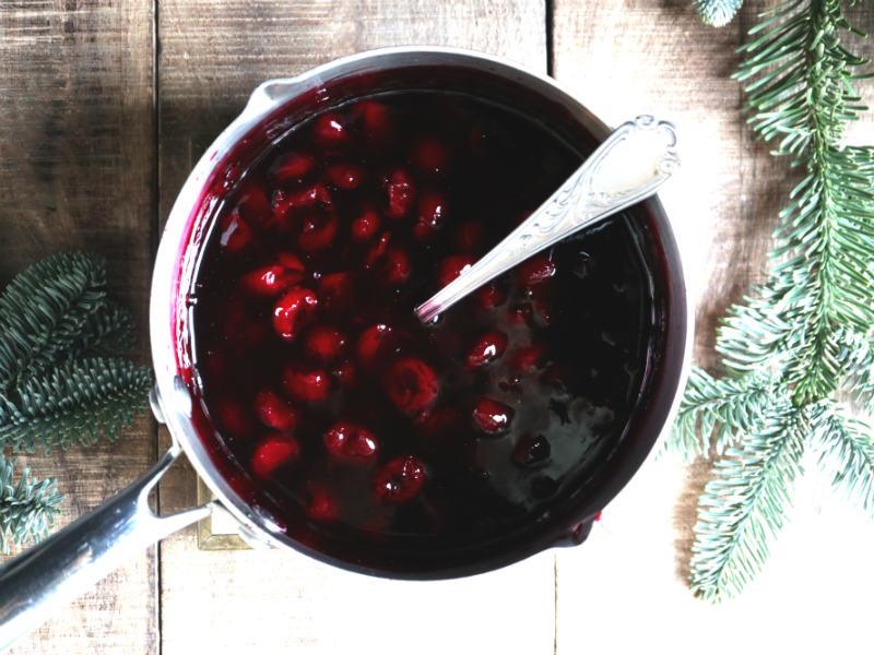 Lav din egen kirsebærsauce