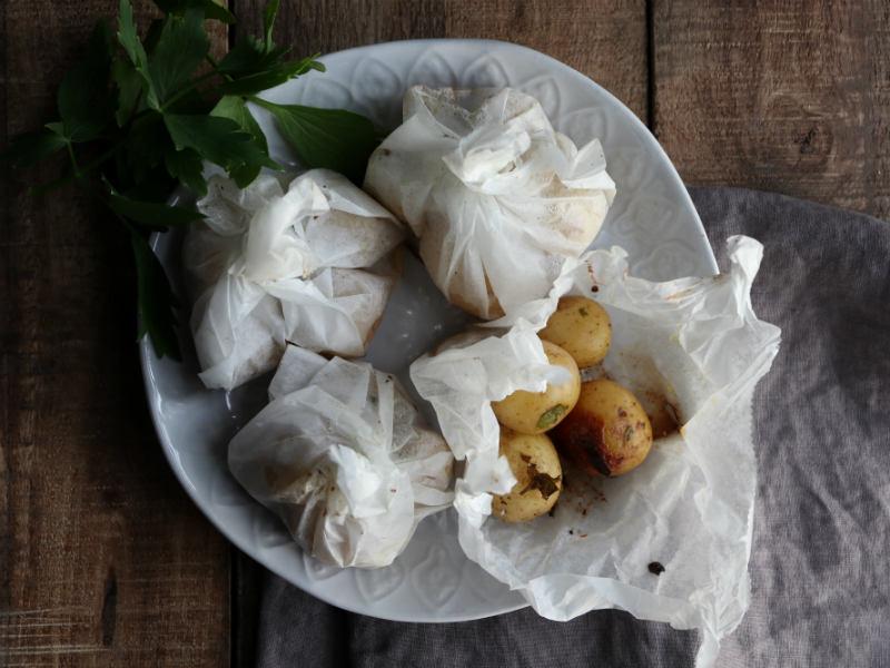 Kartofler på grillen