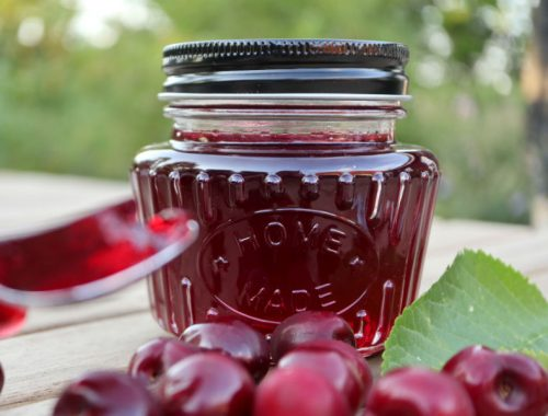 Kirsebærgelé