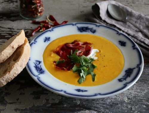Hokkaidosuppe med chili