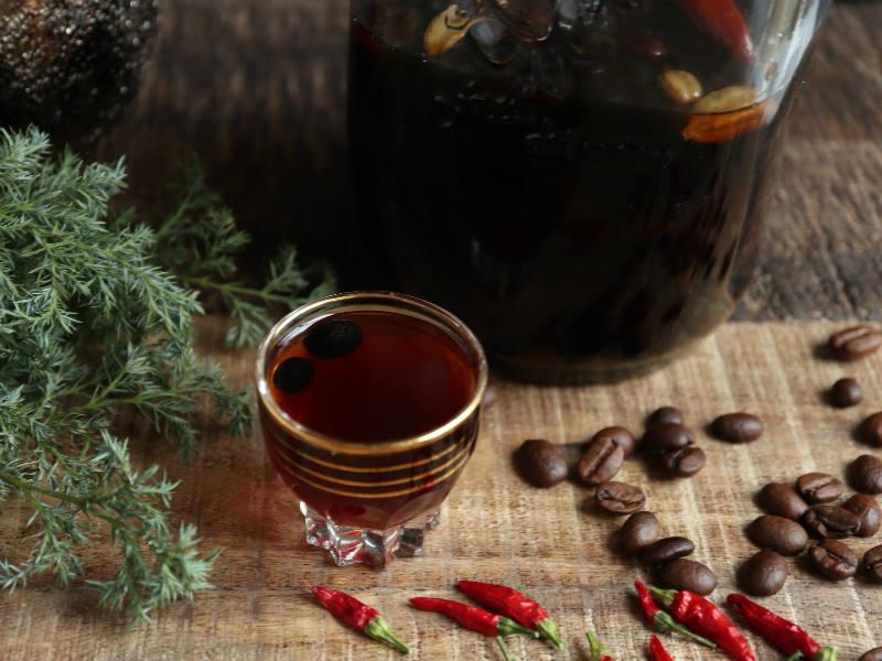 Julekaffelikør med chili