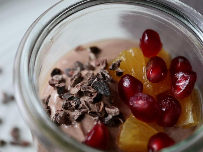 Hjemmelavet chokoladeyoghurt