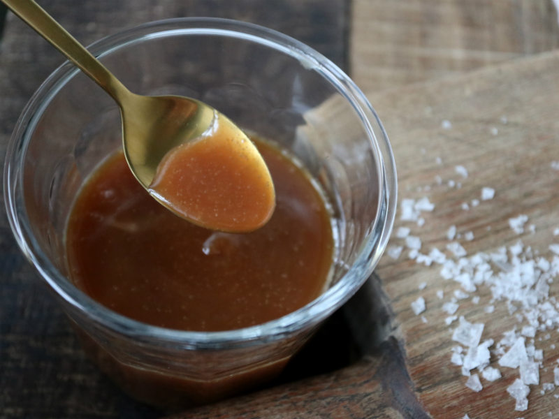 Hjemmelavet saltkaramel