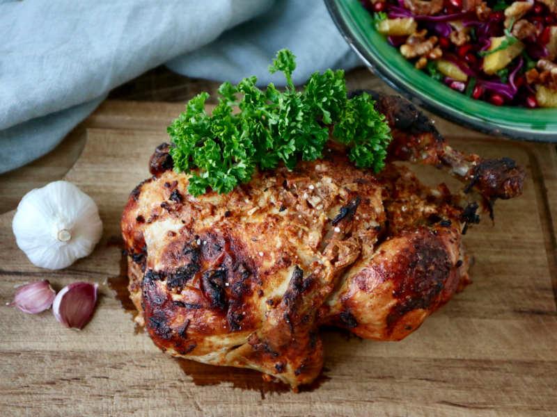 Kefirmarineret kylling