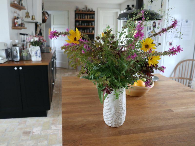 Blomster fra haven