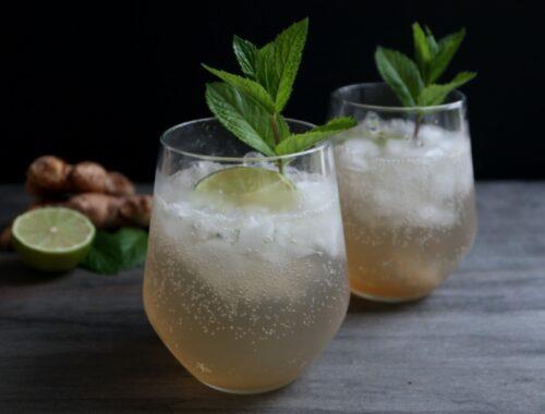 Hjemmelavet ginger ale