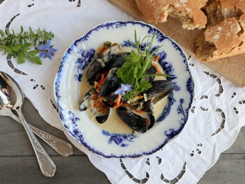 Muslinger i safran