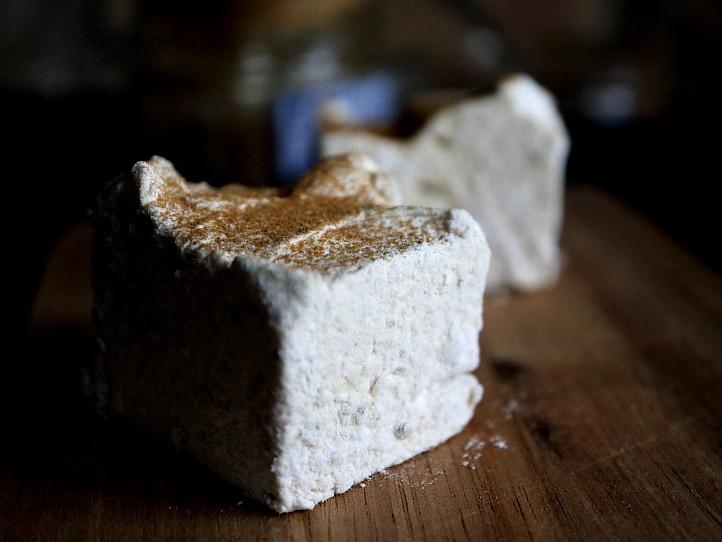 Marshmallows med lakridssmag