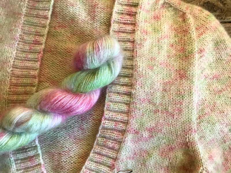 V-hals-sweater