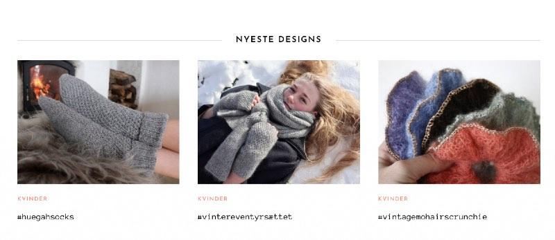 Nyeste designs på Knitamore.com
