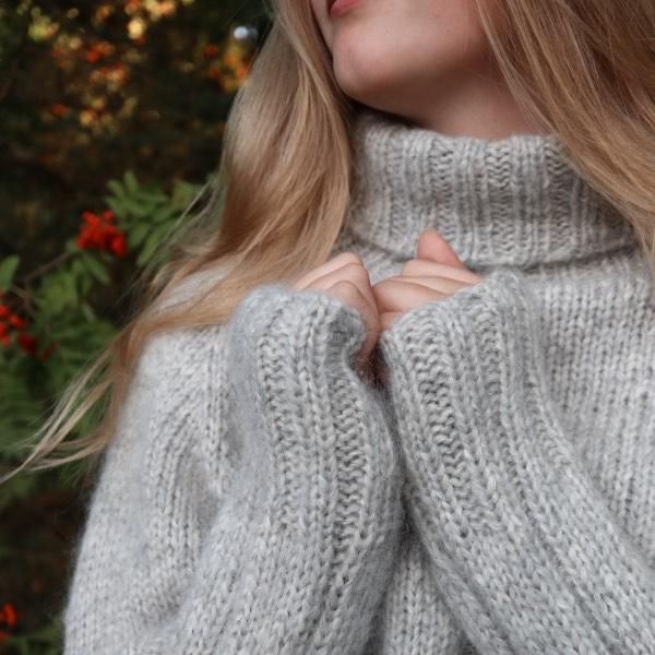 Ærmerne på Cinis Sweater