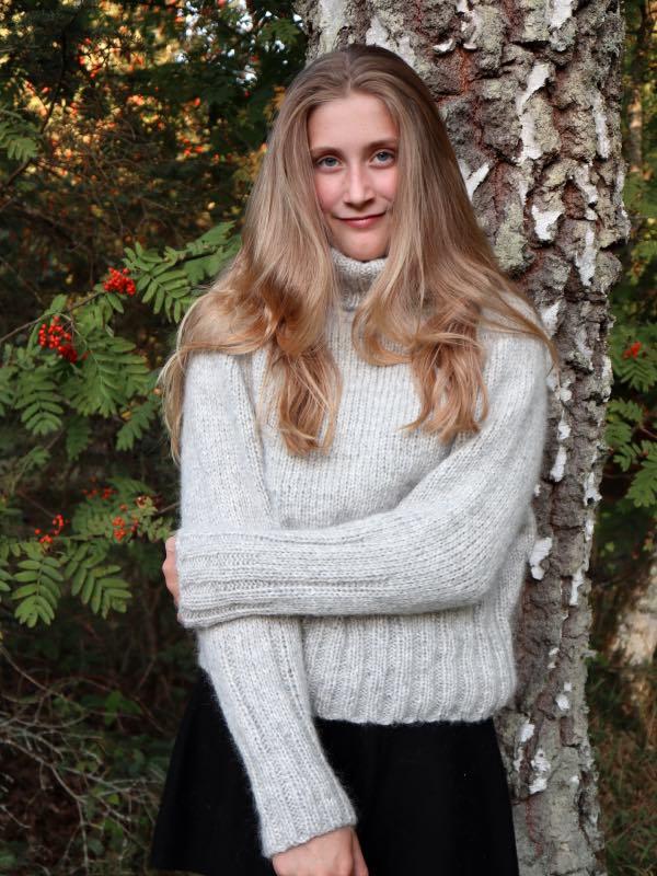 Cinis Sweater - strikkeopskrift