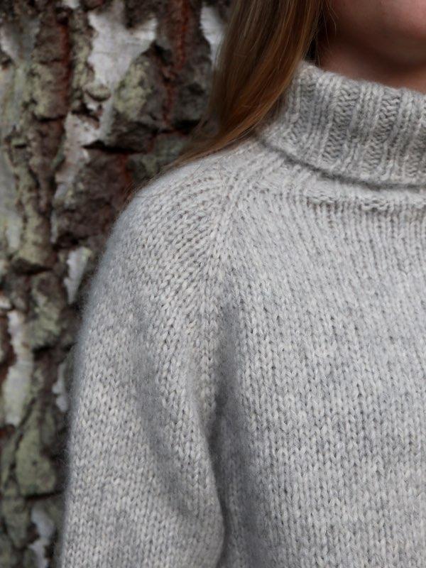 Skulderkonstruktionen på Cinis Sweater
