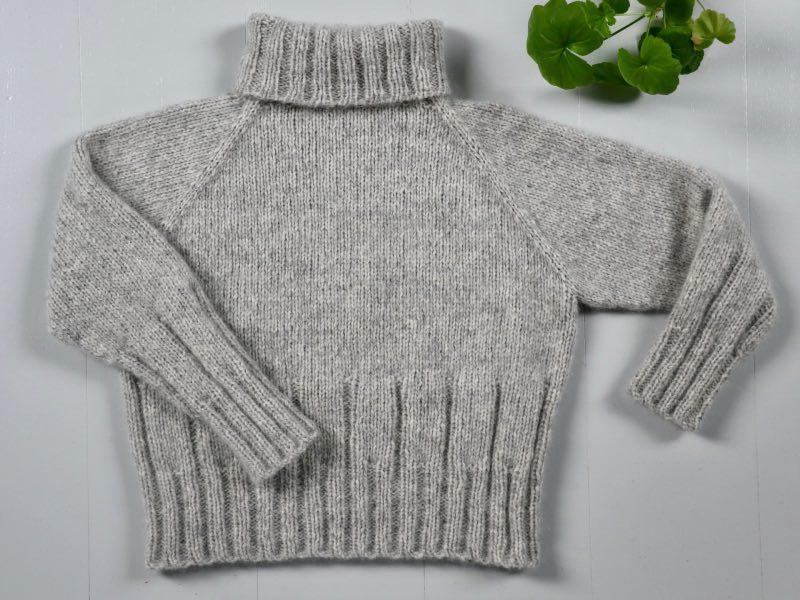 Cinis Sweater - færdigstrikket